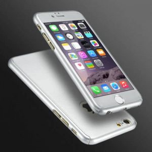iphone 6 full case silver