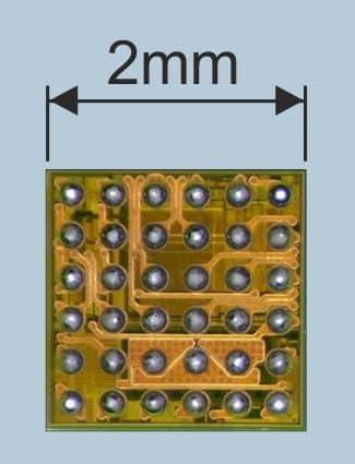 iPhone U2 IC charging chip size