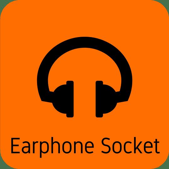 earphone socket icon