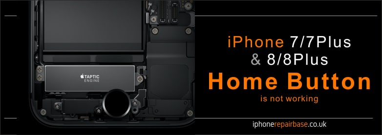 iPhone 7 or iPhone 8 home button is not working after screen os battery replacement? We can fix it!